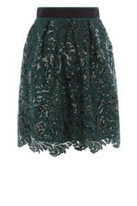 Coast Aniston Sequin Skirt
