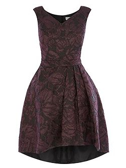 Monnisha Jacquard Dress
