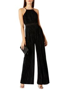 Coast Sumi Pleated Jumpsuit