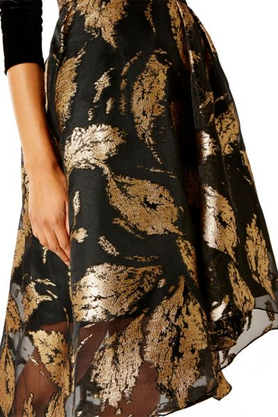 Coast Maneela Jacquard Dress Shorter Length