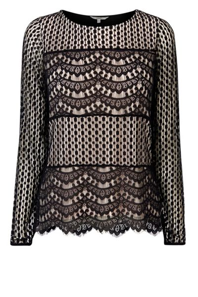 Coast Anaya Lace Top
