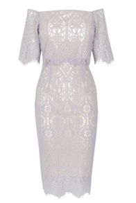 Coast Marsha Lace Dress Shorter Length