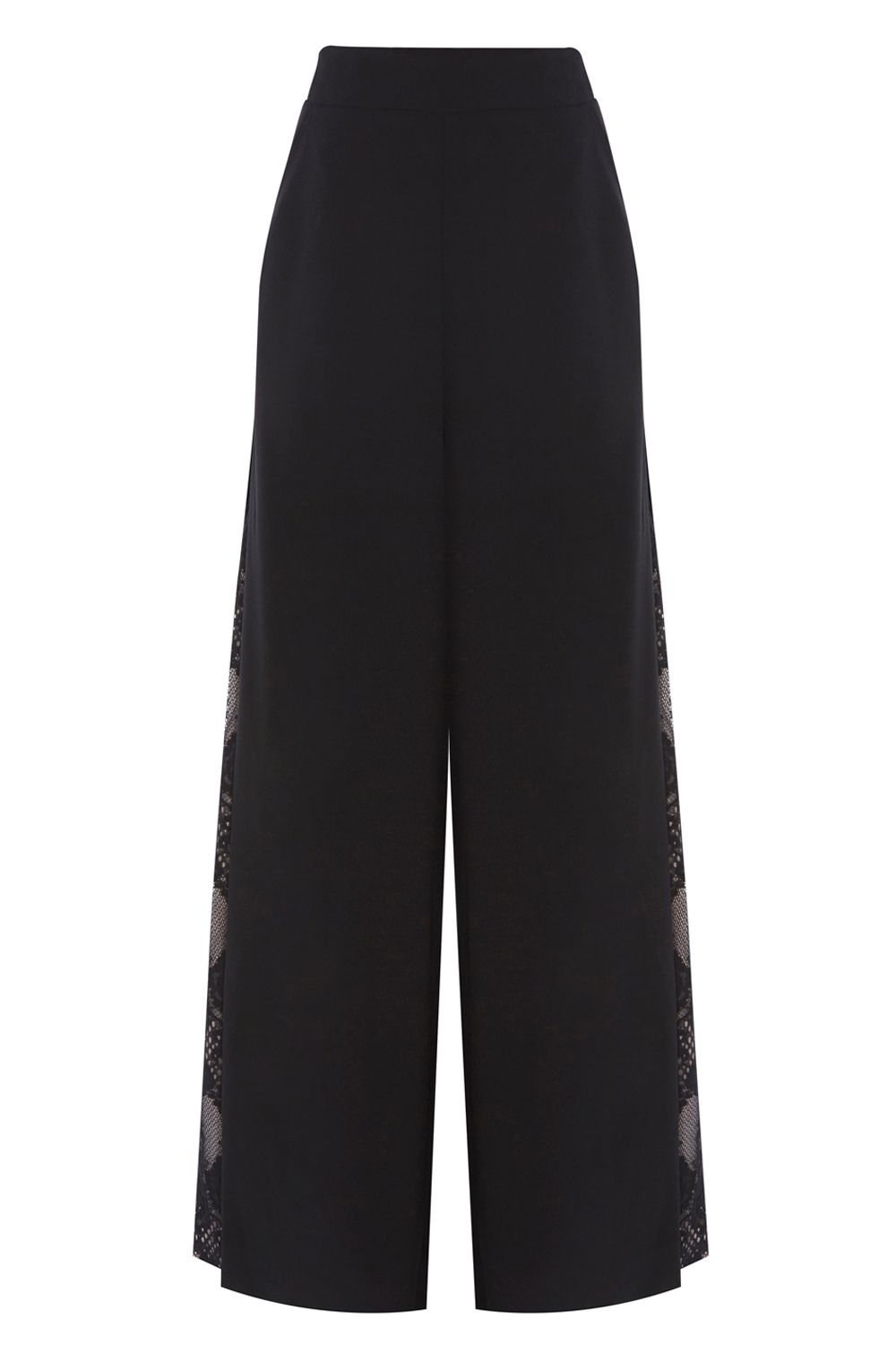 Coast Coast Zena Wide Leg Trousers, Black