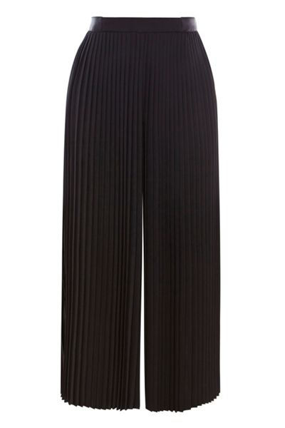Coast Serena Pleated Cropped Trouser