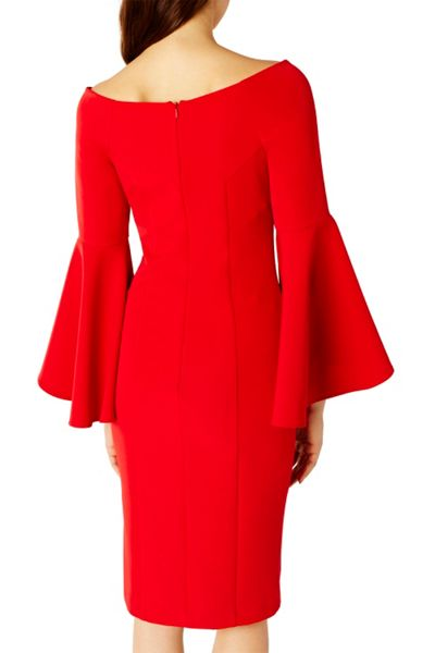 Coast Roxie Bell Sleeve Dress