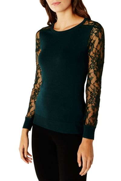 Coast Val Lace Knit Top
