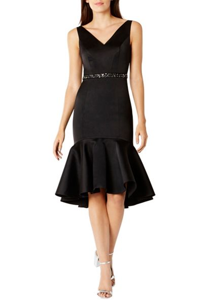 Coast Ryanna Peplum Hem Dress