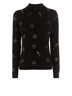 Celyn Christmas Knit Top