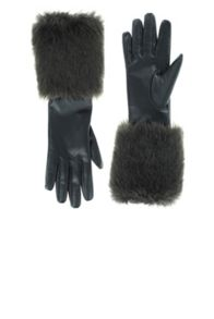 Coast Paige Faux Fur Trim Gloves