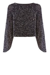 Coast Masie Sequin Top