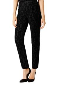 Coast Alberta Flocked Lace Trousers