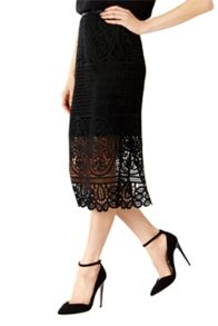 Coast Audrey Lace Pencil Skirt