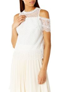 Coast Fabron Lace Top