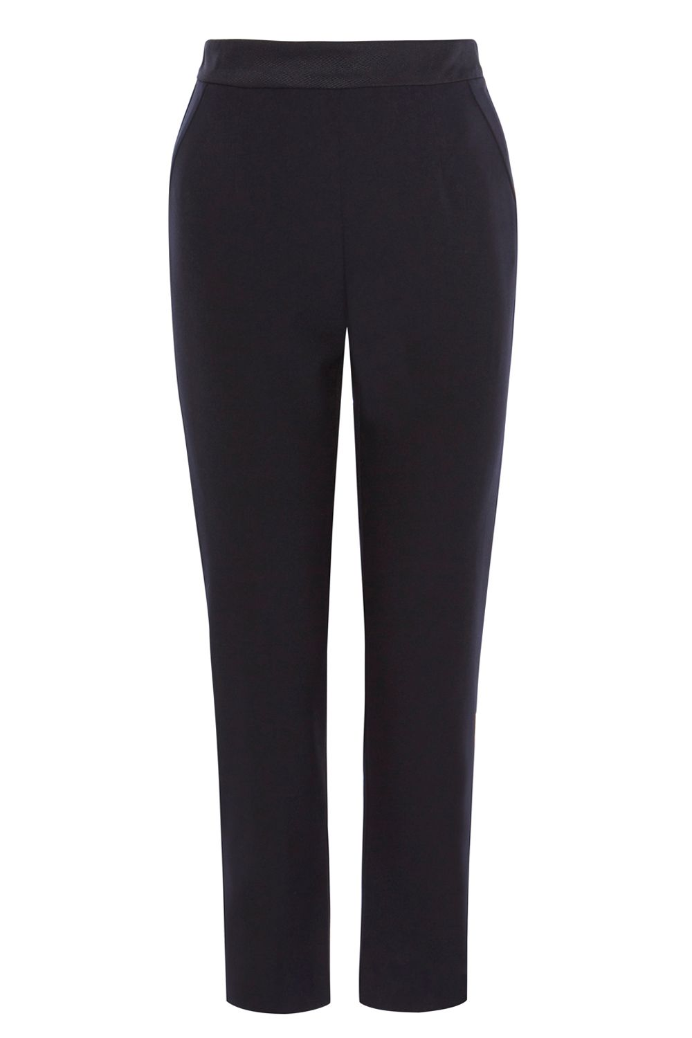 Coast Coast Lucia Slim Leg Trousers, Black