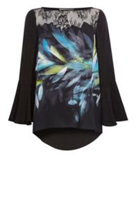 Coast Cinne Printed Top