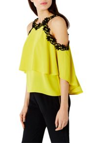 Coast Alice Cold Shoulder Top