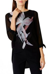Coast Rosario Print Top