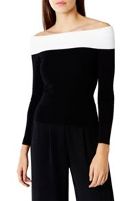 Coast Romee Bardot Knit Top