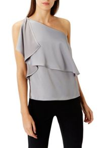 Coast Fran One Shoulder Top