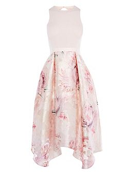 Orsay Floral Midi Dress Shorter Length