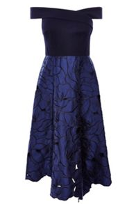 Coast Velerie Artwork Midi Dress