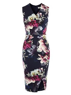 Penelope Floral Shift Dress