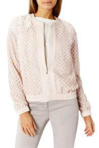 Coast Havana Lace Bomber Jacket