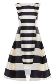 Coast Kady Stripe Full Midi Dress