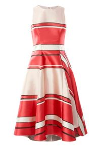 Coast Bayshore Burnout Stripe Dress