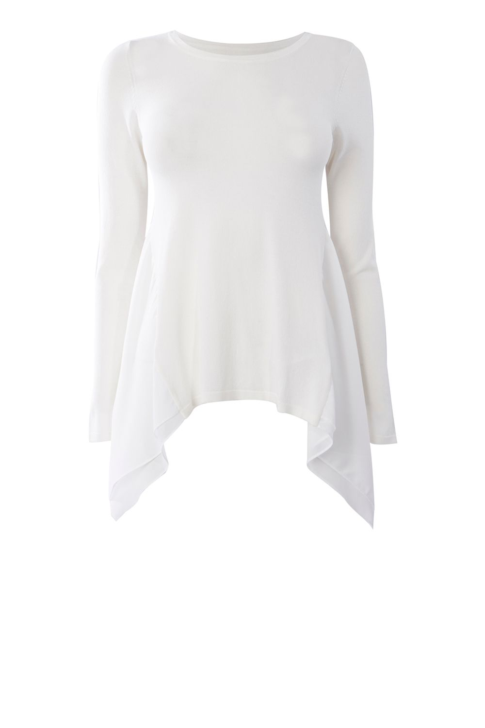 Coast Bourbon Knit Top, White