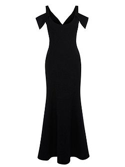 Abriella Structured Maxi Dress