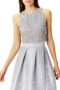 Coast Sky Sequin Bridesmaids Top