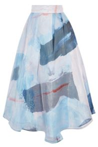 Coast Makarni Printed Maxi Skirt