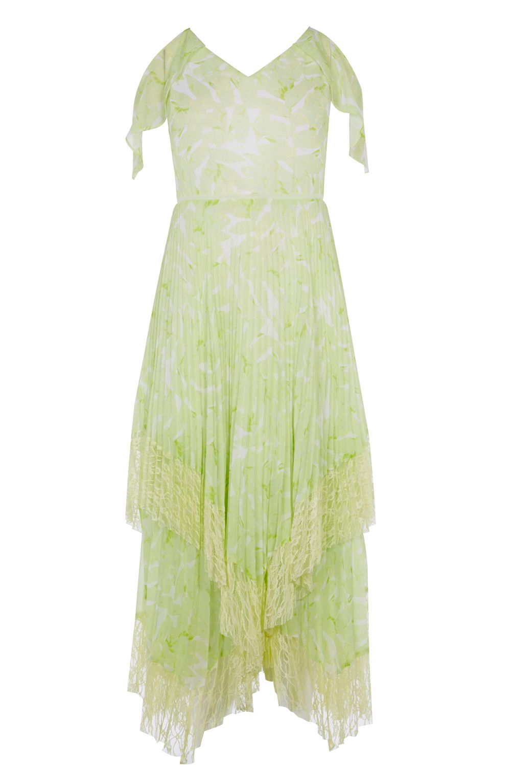 Coast Jamie Printed Dress, Lime