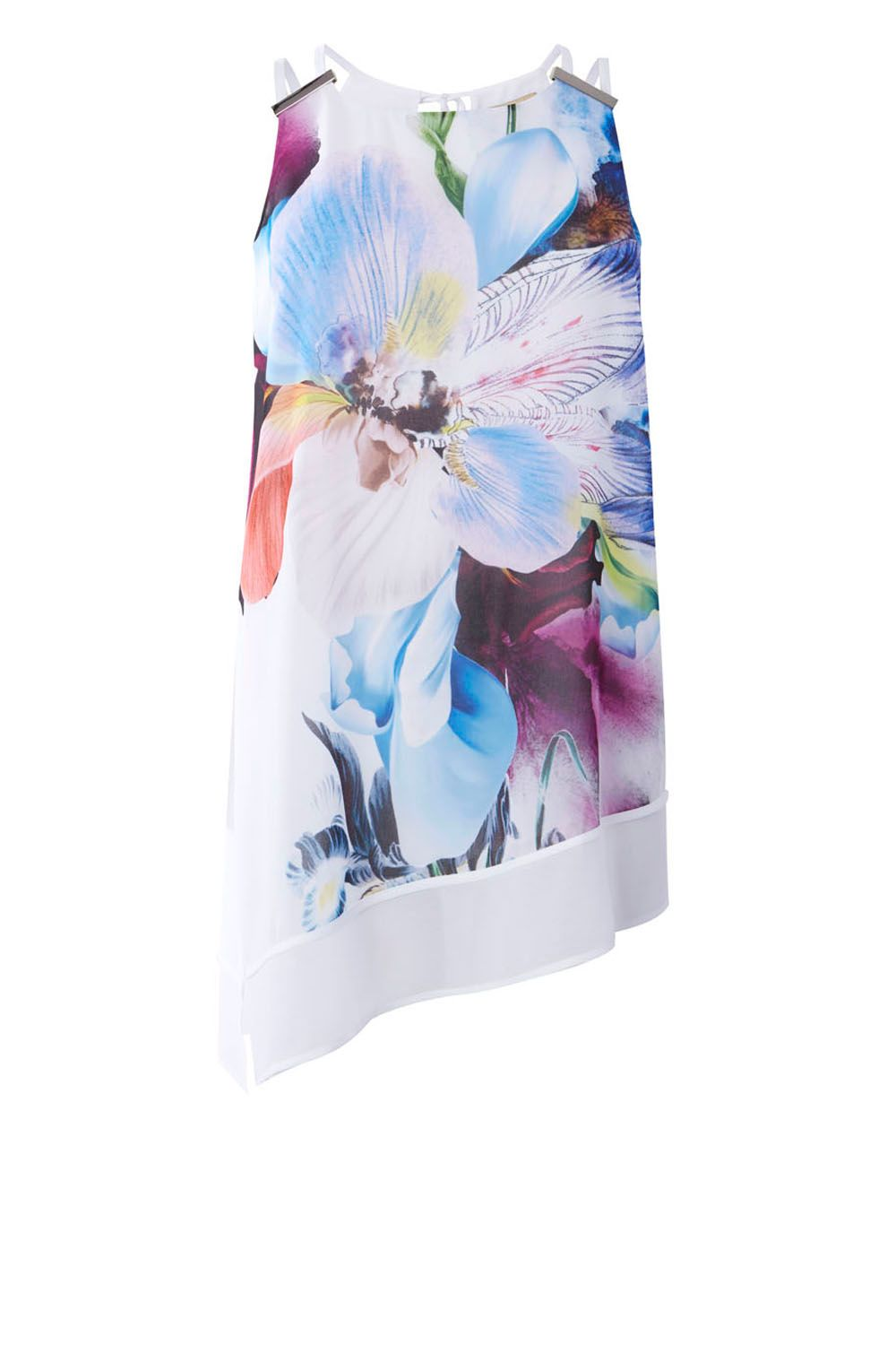 Coast Costa Maya Floral Top, Multi-Coloured