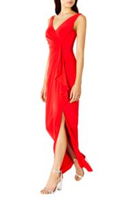 Coast Witney Jersey Frill Maxi Dress