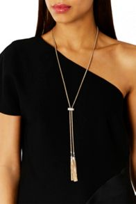 Coast Carmelo Diamante Bar Necklace