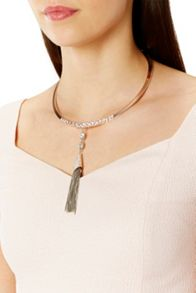 Coast Arta Torq Tassel Necklace