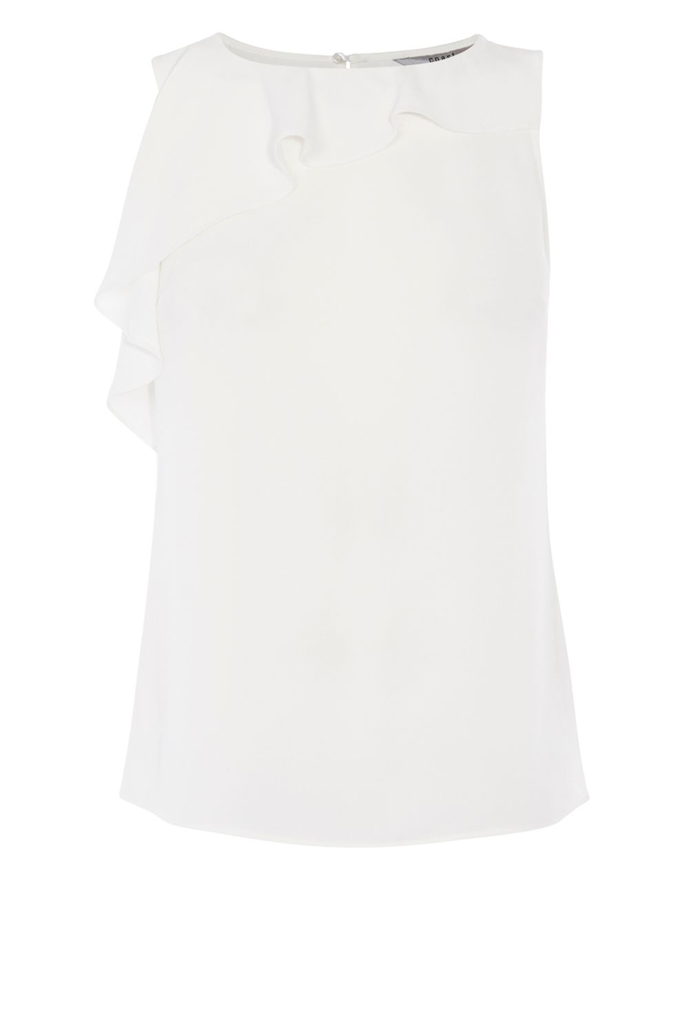 Coast Perlina Shell Top, White