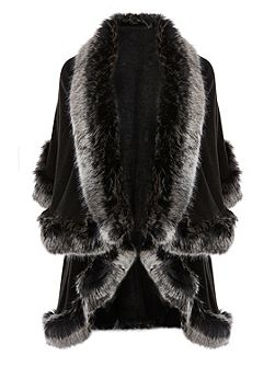 Kate Faux Fur Cape