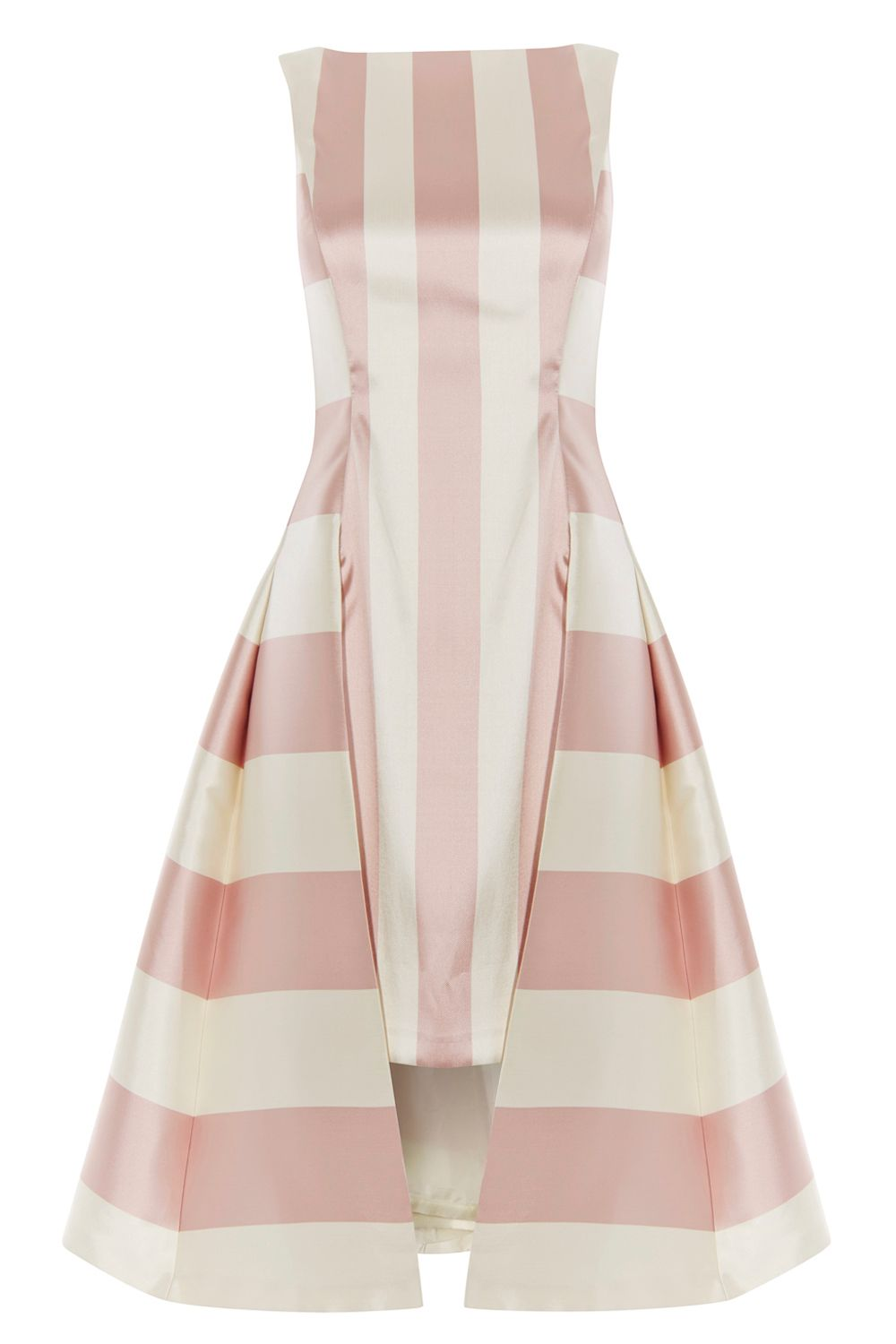Coast Kady Stripe Dress, Multi-Coloured