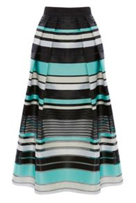 Coast Sofia Stripe Skirt