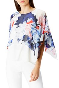 Coast Nate Floral Top