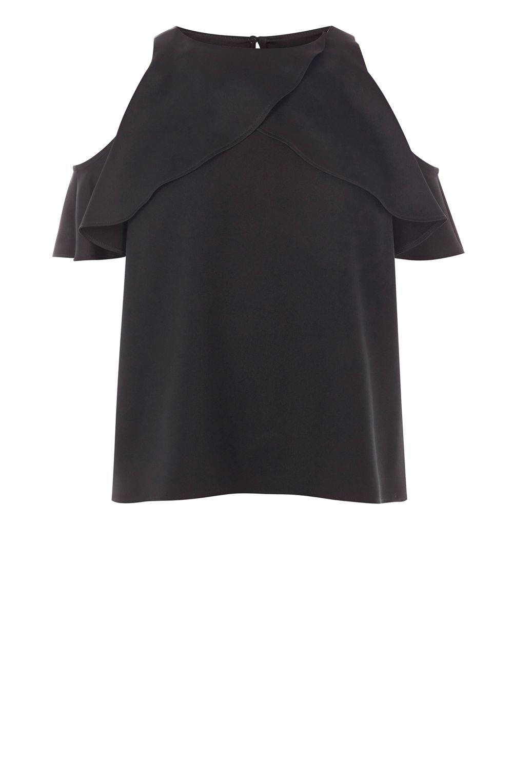 Coast Krissi Cold Shoulder Top, Black