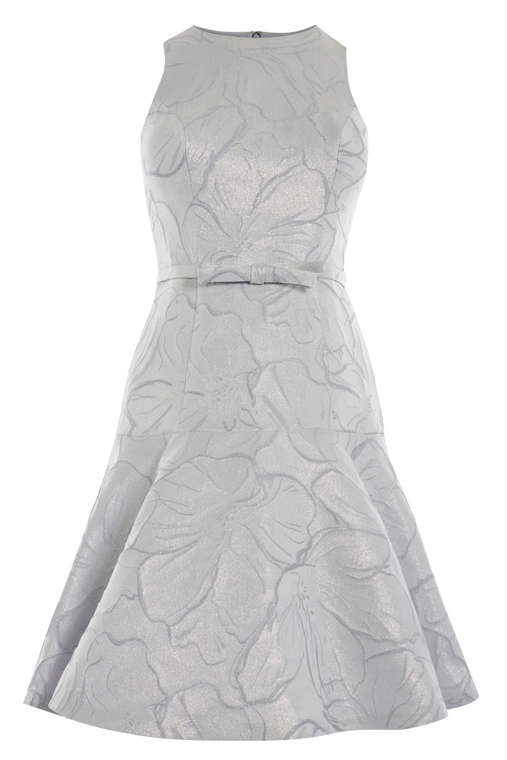 Coast Francesca Dress, Silver