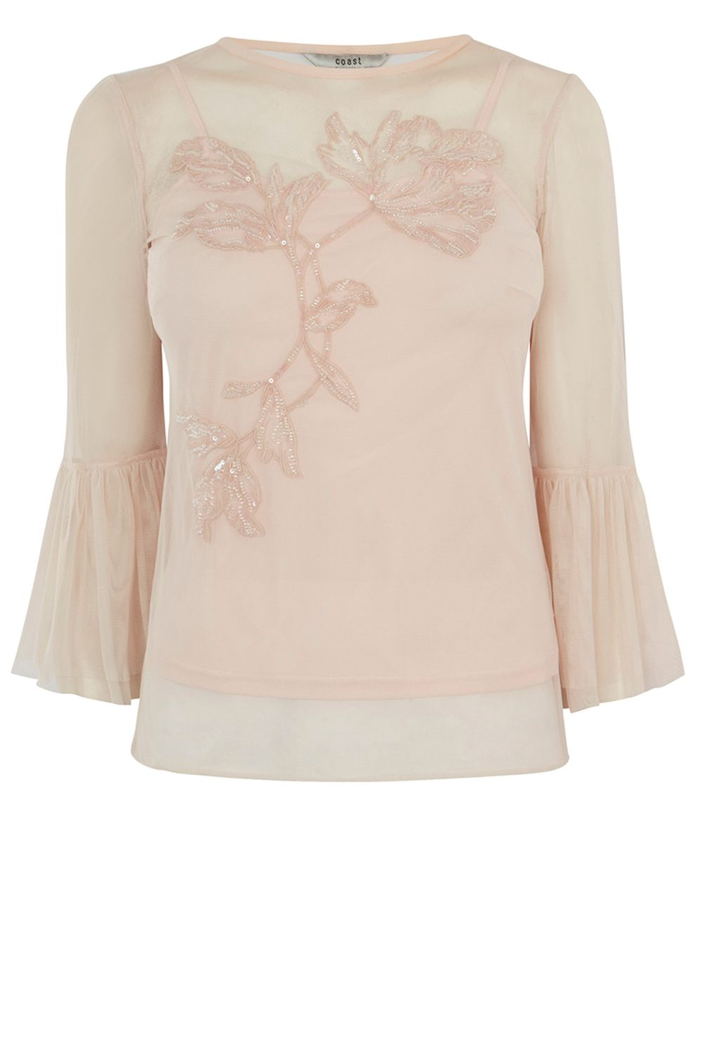 Coast Rae Artwork Top, Pink