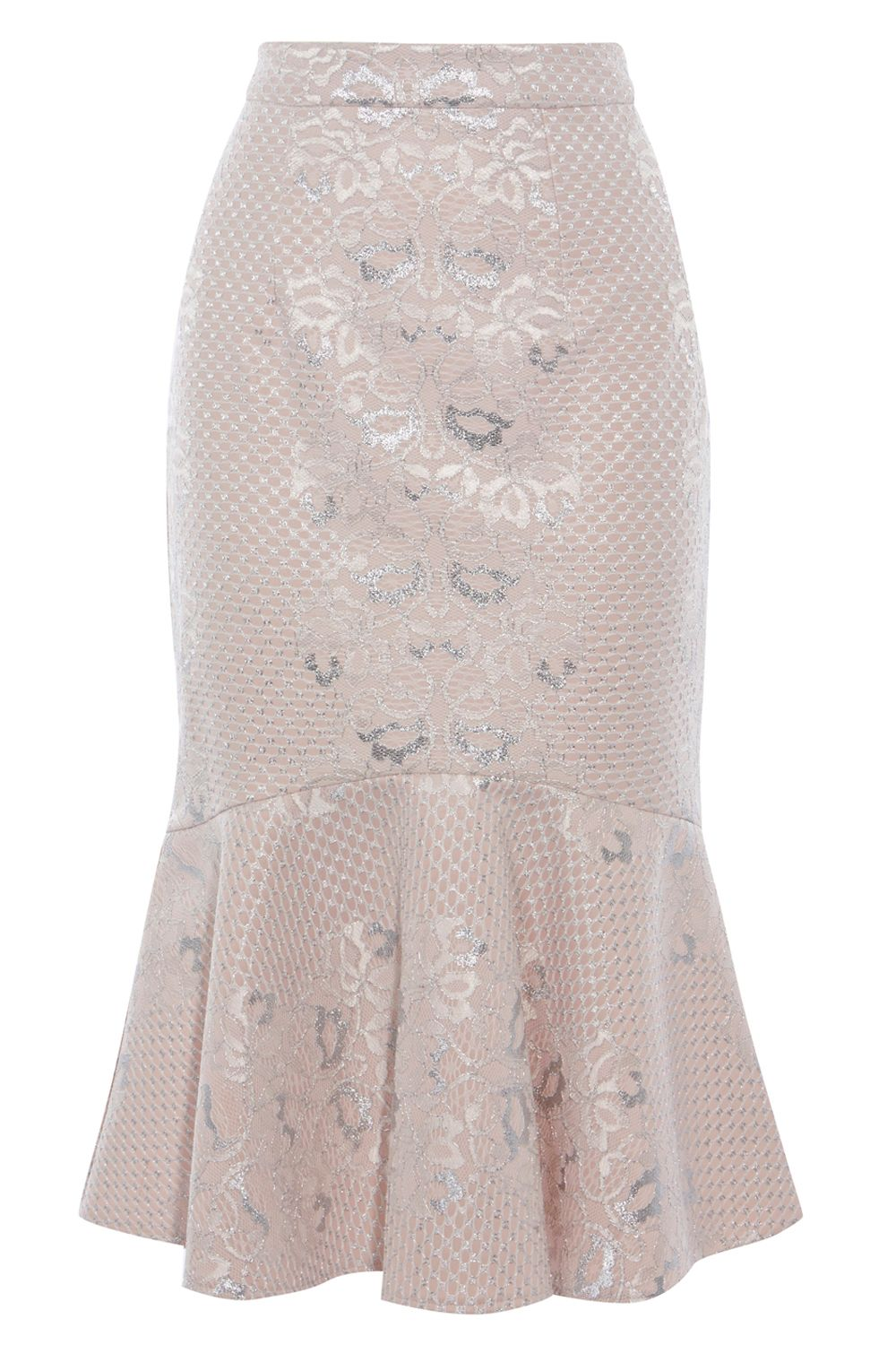Coast Izzy Lace Skirt, Pink