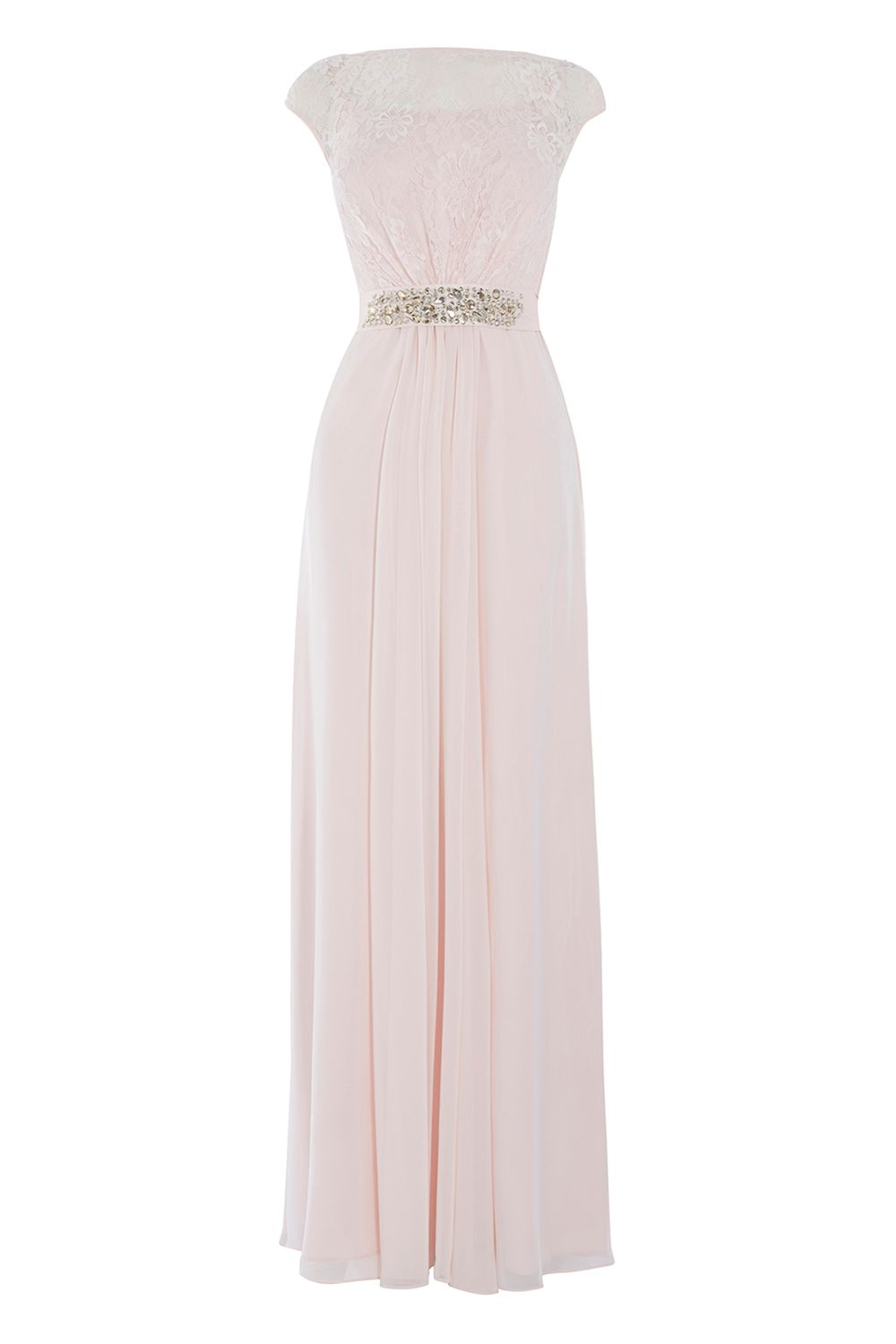 Coast Lori Lee Lace Maxi Dress, Pink