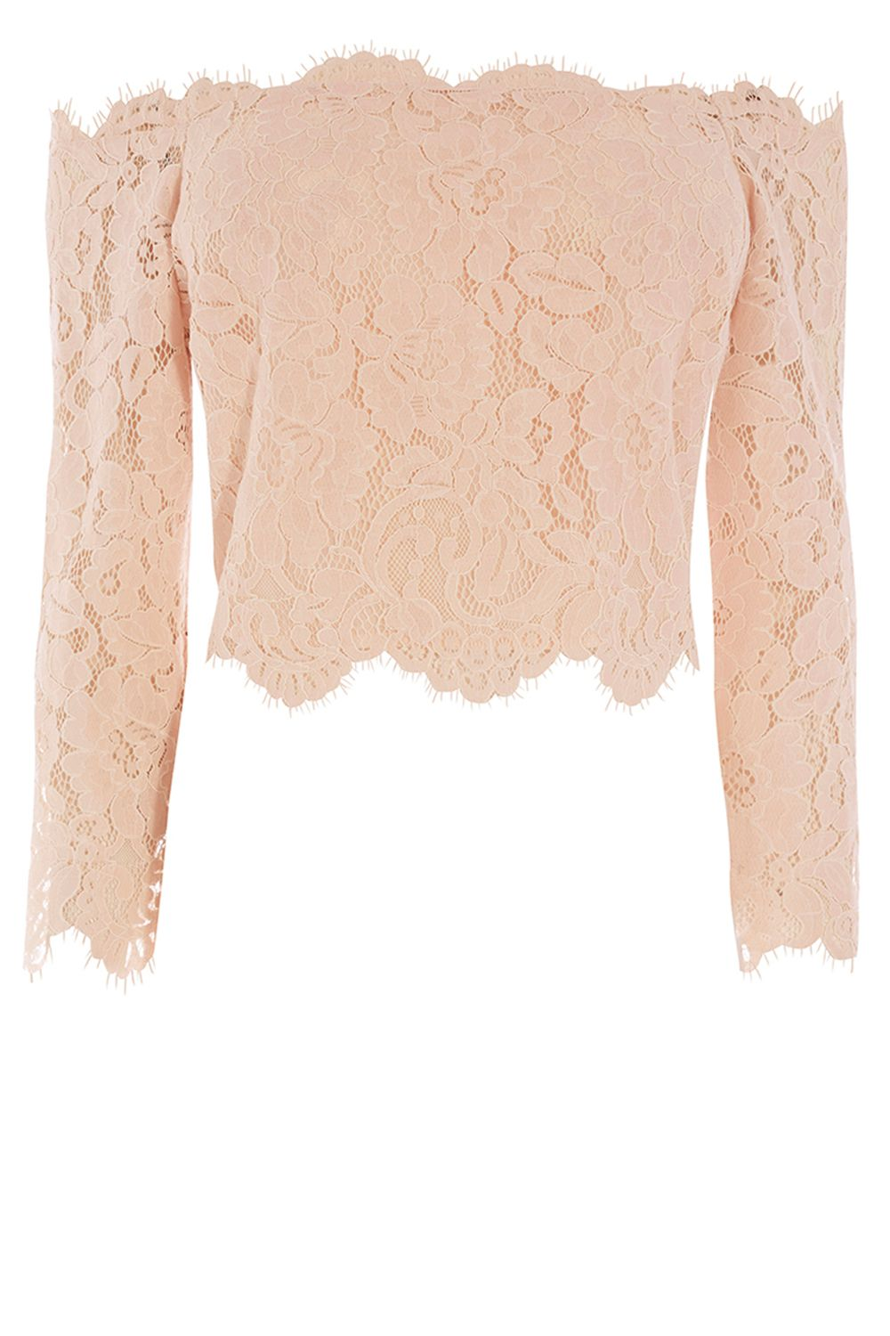 Coast Marr Lace Bridesmaids Top, Pink