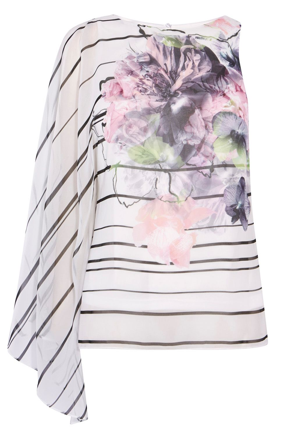 Coast Roma Print Top, Multi-Coloured